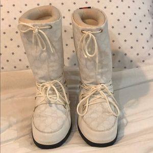 Apres Gucci snow boots